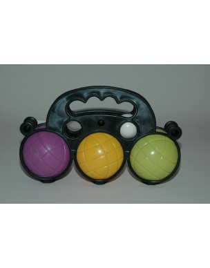 Be Toys Juego de 3 Bolas de Petanca